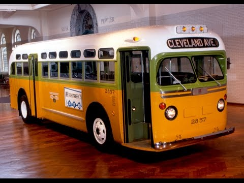 Rosa Parks Bus and short story.