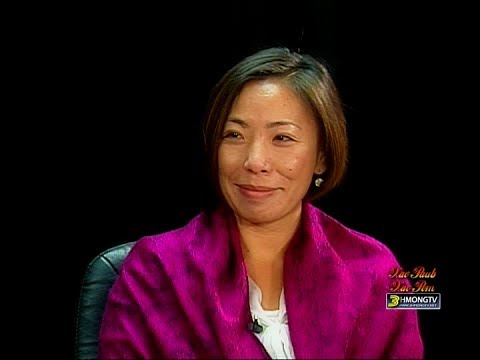 Sia Her talks about her job as Executive Director of Council on Asian Pacific Minnesotans or CAPM.