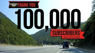 100.000 SUBSCRIBERS!  THANK YOU
