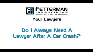 Do You Always Need a Injury Lawyer after a Car Accident in West Palm Beach