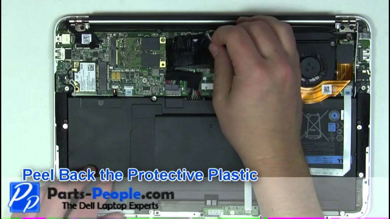 Dell Xps 13 L321x Ultrabook Ssd Solid State Drive Replacement Parts And Upgrade How To Tutorial Youtube