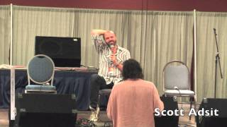 Scott Adsit of 30 Rock, Moral Orel & Frankenhole Q&A at Florida Supercon - July 2012