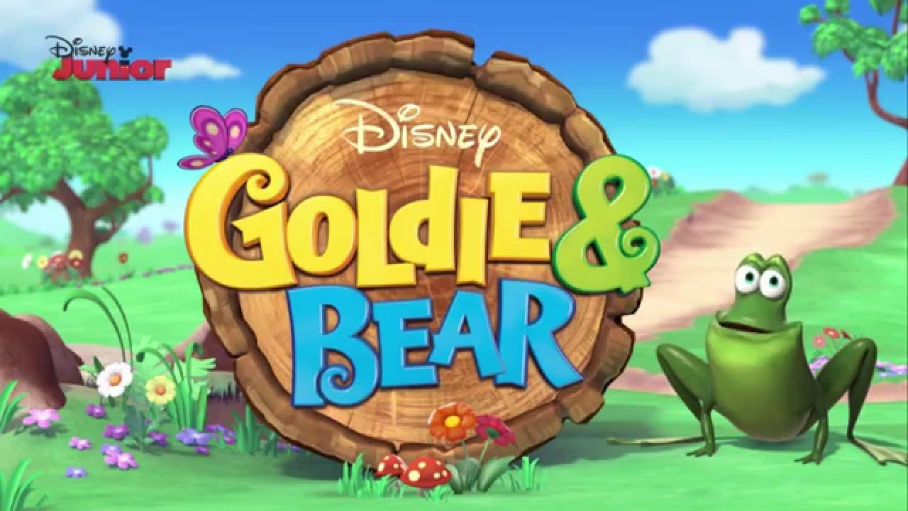 goldie   bear first look  disney junior uk youtube goldilocks and the 3 bears clipart goldilocks and the three bears clip art free