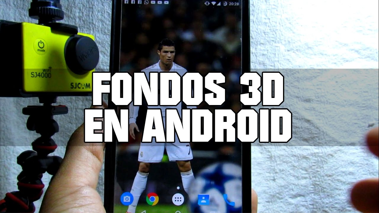 PANTALLA 3D PARA ANDROID | 3D PARALLAX BACKGROUND PRO APK ...