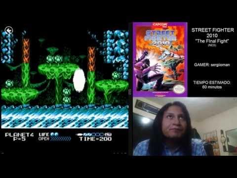 "Sergio juega STREET FIGHTER 2010 ""The Final Fight"" (NES)"