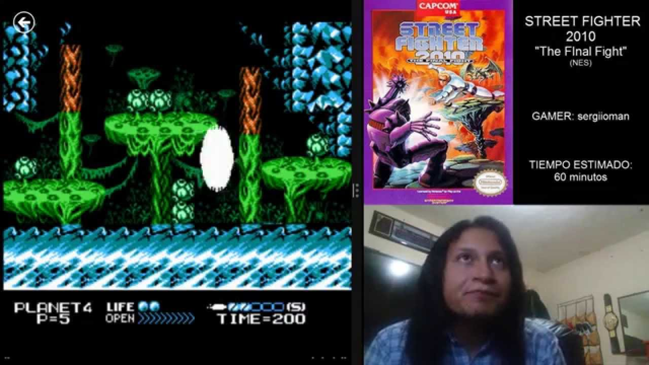 Sergio Juega Street Fighter 2010 The Final Fight Nes Youtube