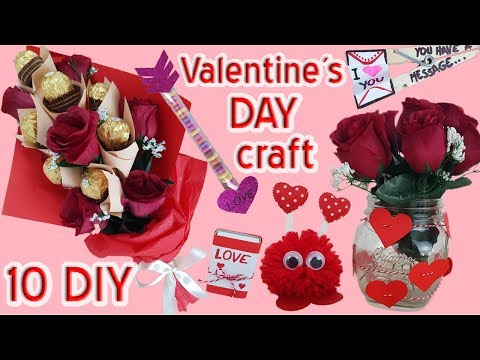 10 DIY Valentine's Day Crafts HOW TO! 2018