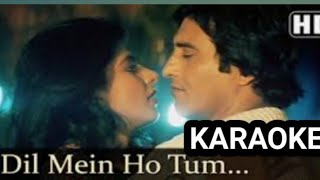 Dil me ho tum - Karaoke duet - Male Part