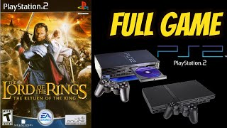 The Lord of the Rings: The Return Of the King (PS2) Gameplay Walkthrough NO COMMENTARY