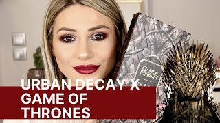 URBAN DECAY X GAME OF THRONES COLLECTION REVIEW || GIO DREVELI ||