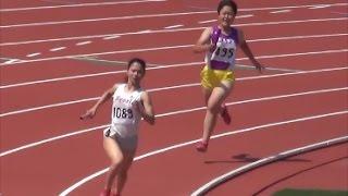 群馬県高校総体陸上2017 女子4×400mR決勝 姫神ゆり 検索動画 15