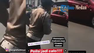 Download Video VIRAL, Augie Fantinus Rekam Aksi Oknum Polisi yang Diduga Jadi Calo Tiket Asian Para Games MP3 3GP MP4