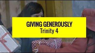 Giving Generously | Revd. Iain Osborne