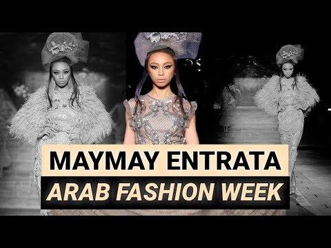 Maymay Entrata slays the runway at Arab Fashion Week 2018