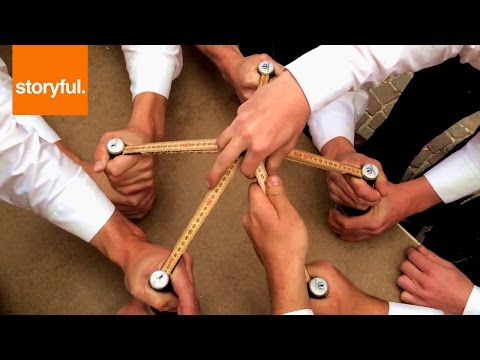 Carpenters Open Five Beer Bottles At Once With Rulers (Storyful, Crazy)
