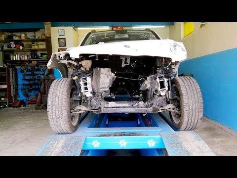 видео: Mercedes-Benz GLK.  Обзор повреждений.
