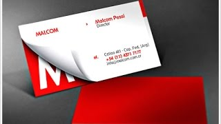 |Corel draw| How to make styliest business card|