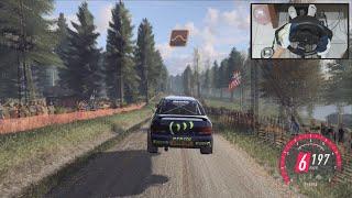 Subaru Impreza 1997 - Dirt Rally 2.0 | Finland | Thrustmaster T150 Pro | Steering Wheel Gameplay