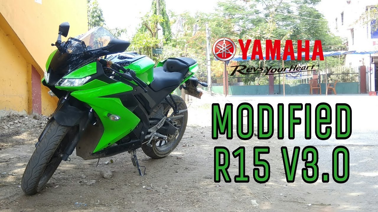 R15 v3 modified by Rough rider azam
