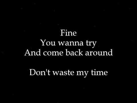 Asia Cruise - No Thanks To You Lyrics