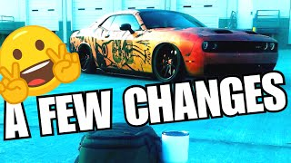 Dodge Challenger Luxe Taillight & Side Marker Tint Kit - EZ Cheap Mod!
