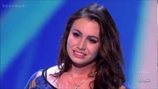 Sophie Tweed Simmons - Make You Feel My Love - X Factor USA (Audition)