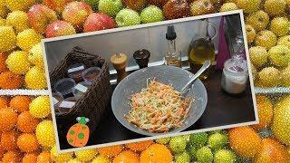 №24. Салат из свежих овощей с яблоком