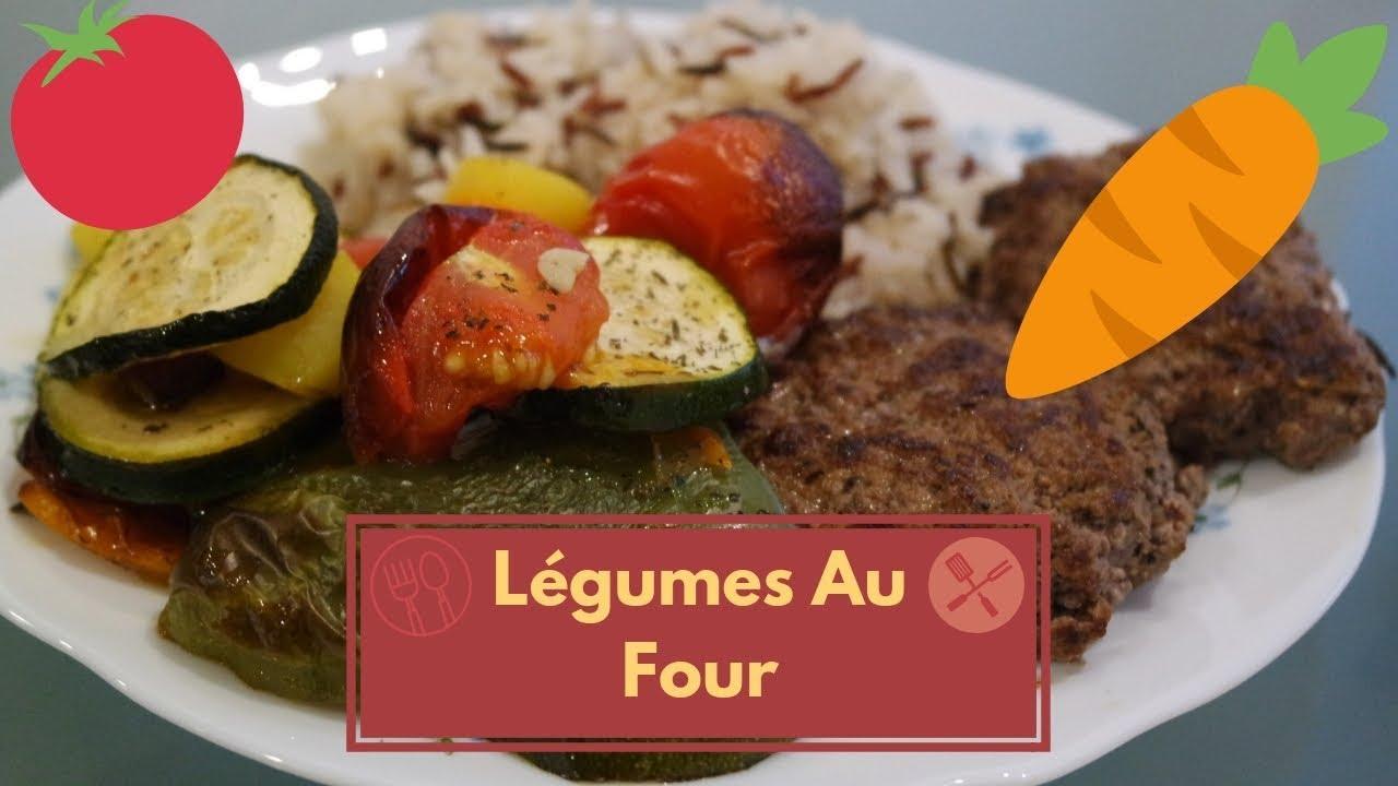 Legumes Au Four Et Steak Hache Youtube