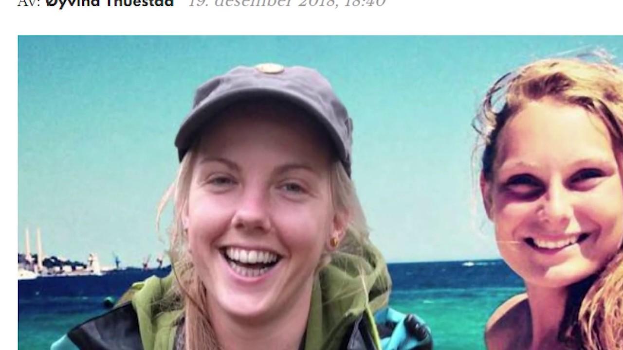 Se hva Maren Ueland delte på facebook før hun og Louisa Vesterager  Jespersen ble voldtatt og drept