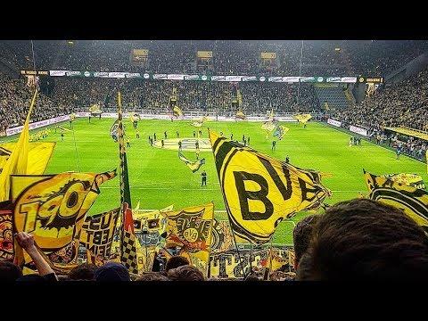 BVB Dortmund - Wolfsburg (3:0) - VEJA A FESTA COMPLETA DA TORCIDA DO BVB!
