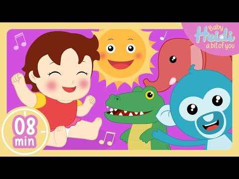 The Best Songs for Children   + Compilation 🎵🎶 Baby Heidi