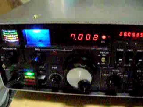 YAESU FRG-7000 Part2(40m Ham band)