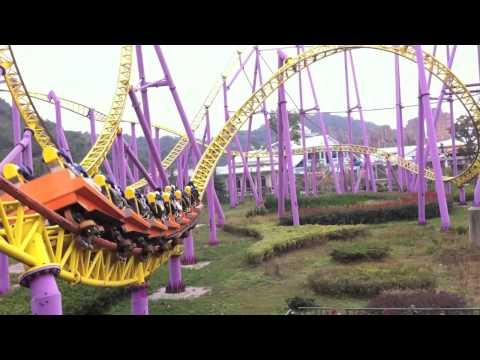 Rollercoaster at HarborLand, Zhejiang Ningbo (浙江宁波凤凰山海港乐园)