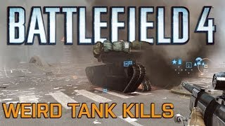 Battlefield 4 - Killing Tanks with Things That Don't Normally Kill Tanks
