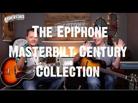 Acoustic Paradiso - The Epiphone Masterbilt Century Collection