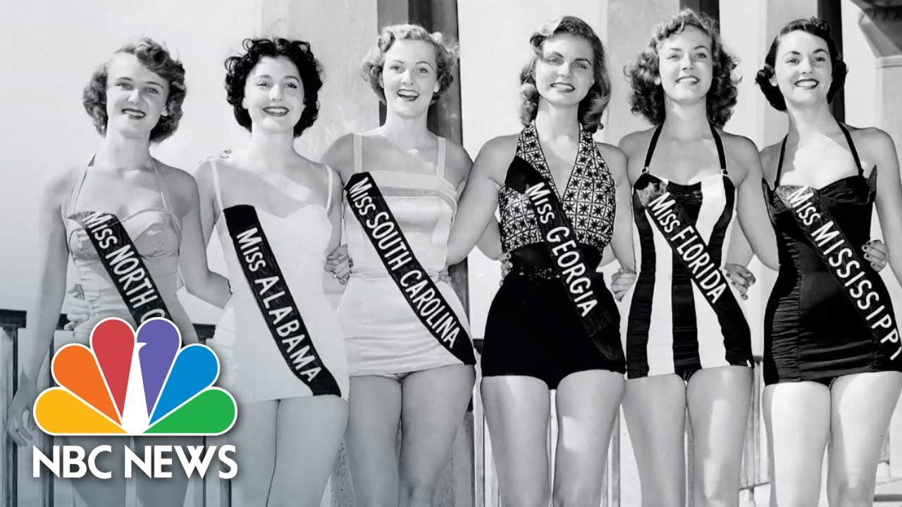 3a400f21a6 The Evolution Of The Miss America Swimsuit Competition | NBC News ...