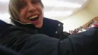 Crazy student freaks out in classroom