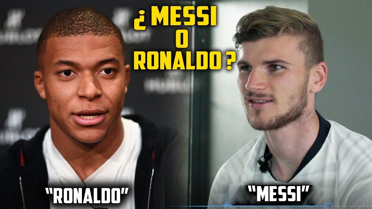 ¿Messi o Cristiano Ronaldo? Cracks eligen al MEJOR entre Messi y Cristiano Ronaldo