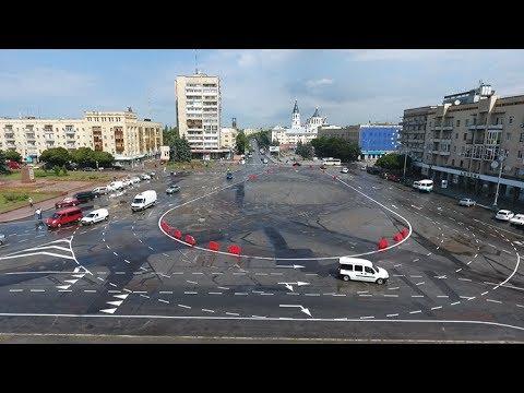 Как проезжать по-новому площадь Соборную в Житомире?