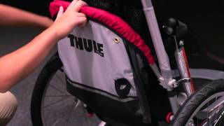 Thule Chariot Cougar Child Carrier Feature Demonstration