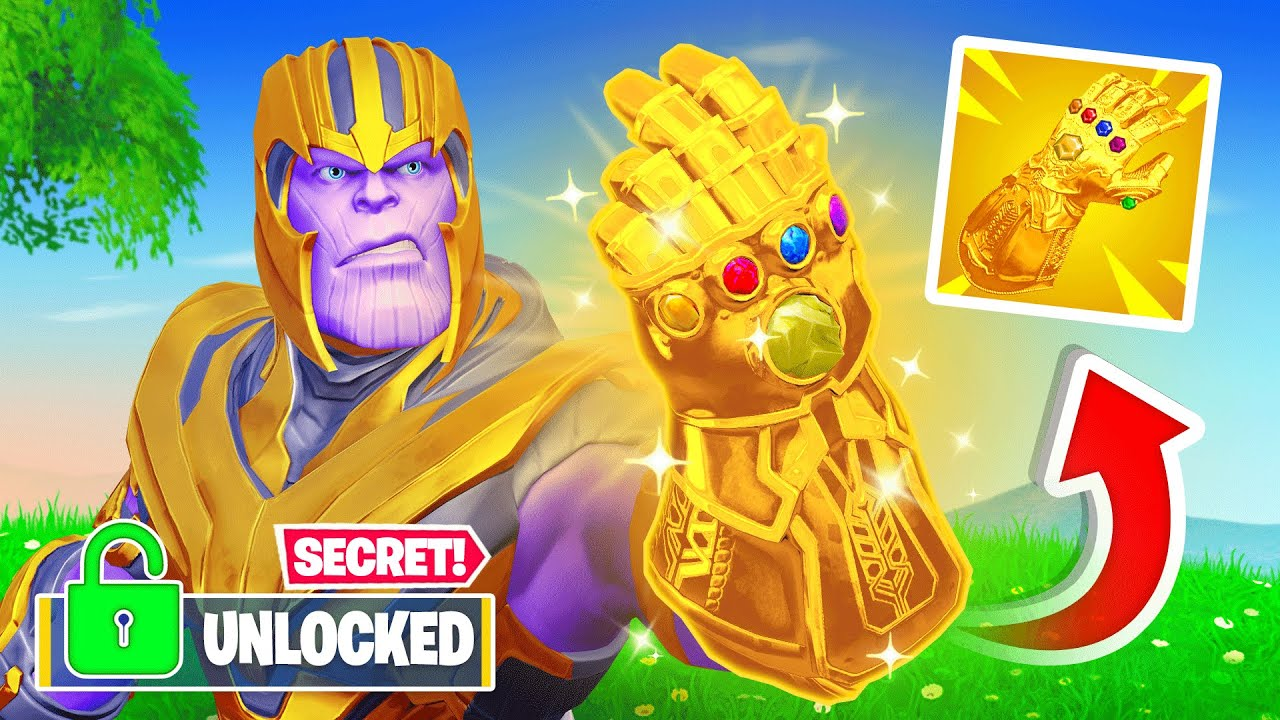 Unlocking *THANOS* in FORTNITE! (Early & Free)