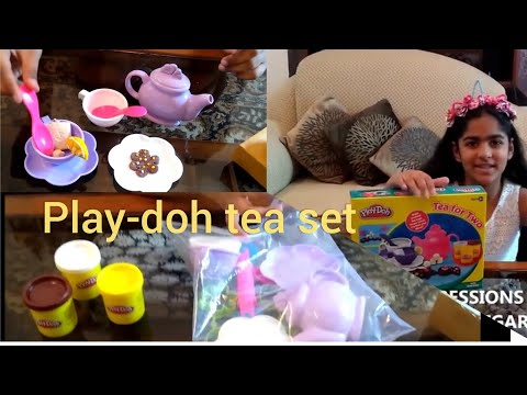 UNBOXING   PLAYDOH   GAME   IMPRESSIONS 44   GIFT ITEM   TOY   TEA SET