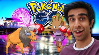 POKEMON GO AT SANTA MONICA PIER WITH NADESHOT