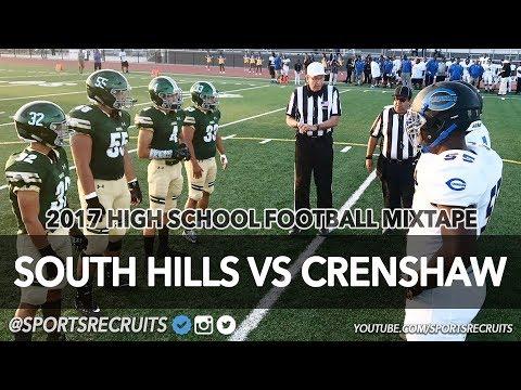 South Hills vs Crenshaw HS Football Highlights: Thursday Night @SportsRecruits HSFB Mixtape