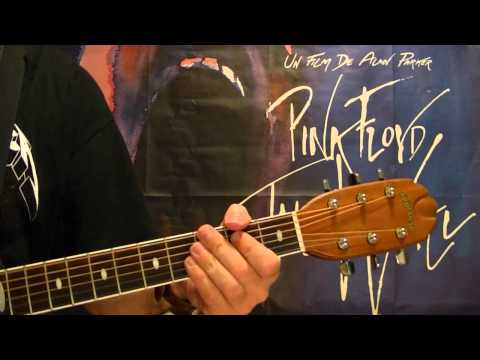 Mother ( From The Wall ) by PINK FLOYD - Guitar Lesson - David Gilmour