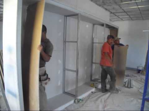 A muebles de tablaroca 039 youtube for Figuras en drywall para cocinas