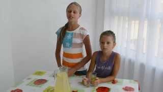 Готовят Дети: О-Балденный имбирно-лимонный напиток с медом (Выпуск#25 )