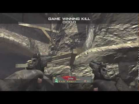 First Trickshot on new MW3 Map