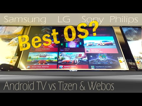 Tizen vs Web Os & Android - Smart TVs Review - YouTube
