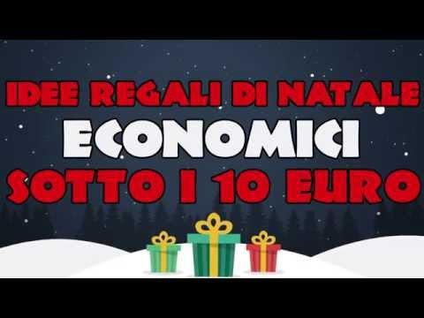 Regali Economici Di Natale.Idee Regali Di Natale Economici Sotto I 10 Euro Youtube